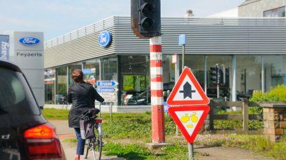 Verkeerslichten Haacht worden aangepast