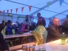 Deelnemers Alpe d'HuZes geschrokken van plotseling noodweer