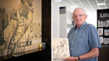 Wielrenner Martin Van den Bossche, meesterknecht van Eddy Merckx, na 50 jaar opnieuw ontvangen door de koning