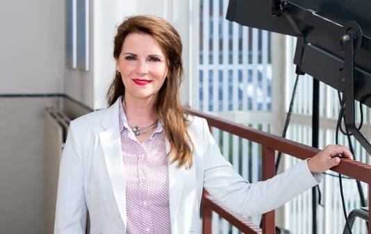 Anita Karremans van netwerkorganisatie Samen in de Regio, met 165 bedrijven, scholen en organisaties uit de gemeenten Bergen op Zoom, Woensdrecht en Steenbergen als partner.