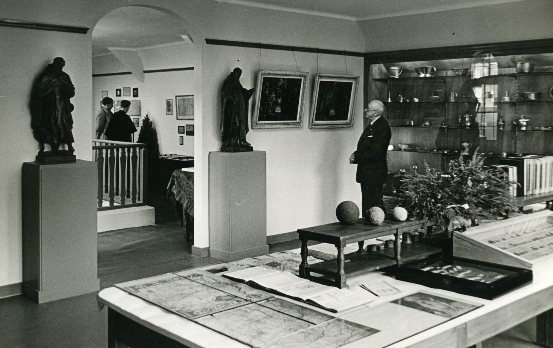 Het nieuwe Jan Cunen Museum (geopend 1949). Een actiepunt uit het verkiezingsprogramma van de KVP uit 1946. Foto Stadsarchief Oss