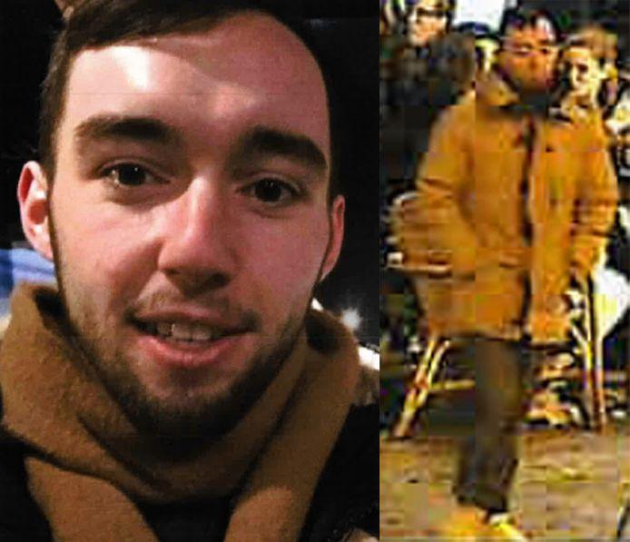 Rechts op de foto is het laatst gemaakte beeld van Meijer. Daarop draagt hij een jas van het merk Canada Goose.