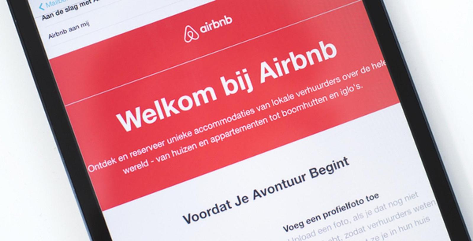 Airbnb groeit in Rotterdam.