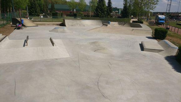 Het vernieuwde skatepark in Vorselaar.