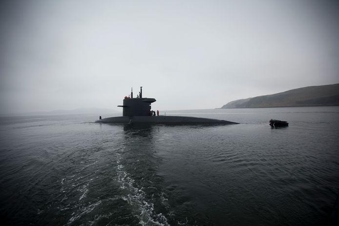 Foto van onderzeeboot Hr. Ms. Bruinvis ter illustratie.