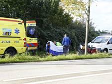 Vrouw gewond bij ongeval met brommobiel in Sint Agatha