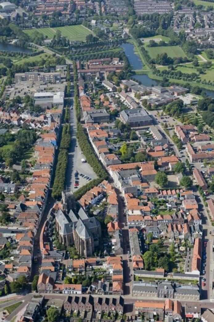 Het historisch centrum van Geertruidenberg.