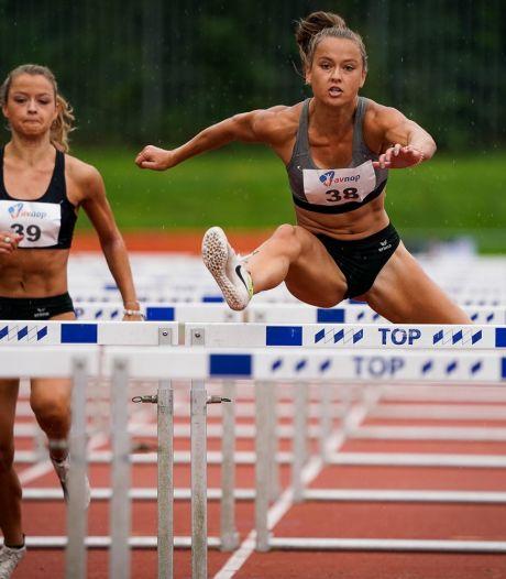 Anne van de Wiel nationaal kampioene meerkamp, tweelingzus Myke derde