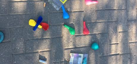 Joggers aan de Keulsekade: 'Ruim die lachgas-troep nou eens zélf op'