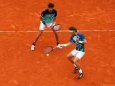 Haase en Koolhof verliezen spannende dubbelfinale in Monte Carlo