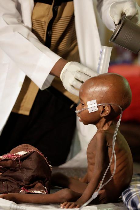 Giro555 haalt 17 miljoen euro op tegen hongersnood Afrika
