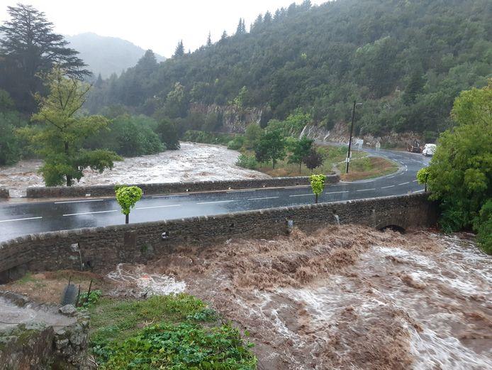 Il est tombé plus de 361 mm de pluie en l'espace de 3 heures à Valleraugue