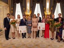 Máxima neemt kijkje bij 'Appeltje'-winnaar Elanart in Nijmegen