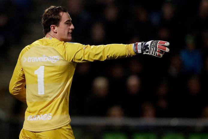 Xavier Mous, keeper van PEC Zwolle.