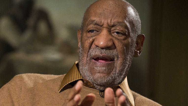 Bill Cosby tijdens een interview begin november.