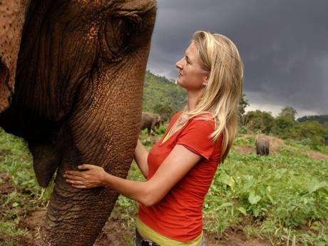 Van olifantenverzorger tot wetenschapper in Thailand