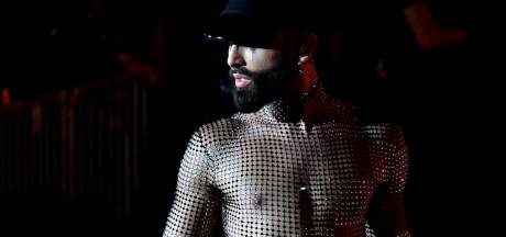 Conchita Wurst in jury botenparade Pride
