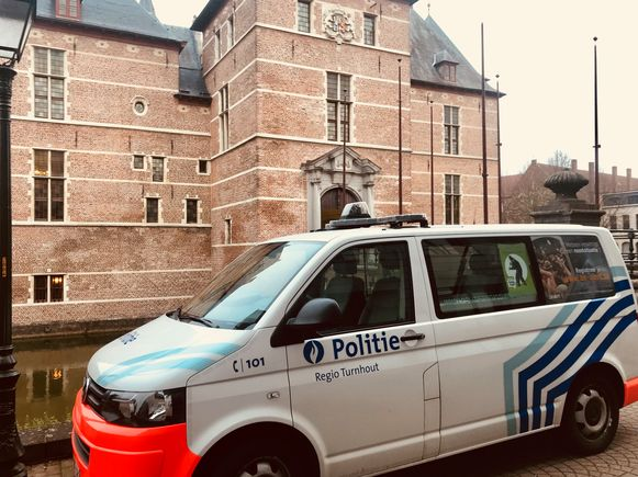 Het gerechtsgebouw in Turnhout