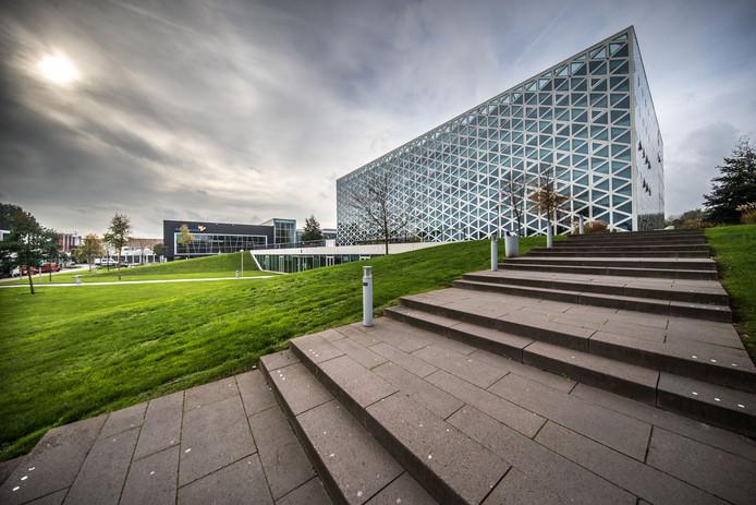 Gebouw X van Hogeschool Windesheim in Zwolle wordt na de herfstvakantie weer in gebruik genomen.