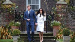 Spervuur van kliks tijdens eerste fotomoment van verloofde prins Harry en Meghan in Sunken Garden