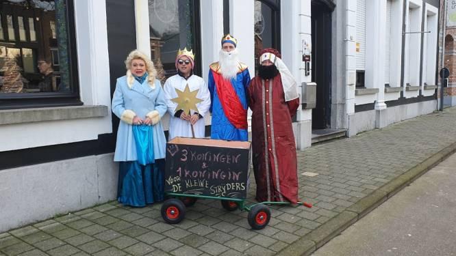 Drie koningen en een koningin gaan op digitale wijze geld inzamelen voor Rode Kruis Hoogstraten