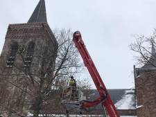 Mogelijk verzakking dak oude kerk blijkt loos alarm