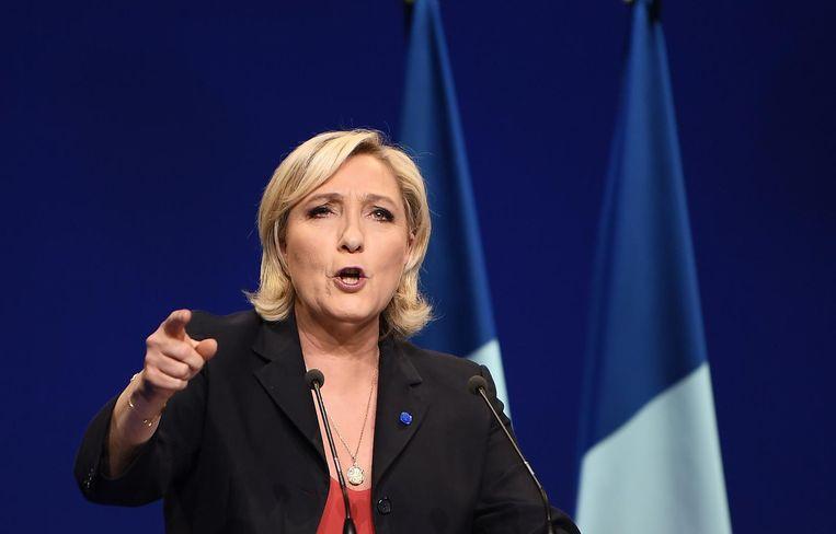 Marine Le Pen. Beeld afp