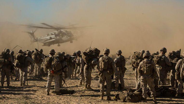 Amerikaanse mariniers in Afghanistan. Beeld United States Marines Corps