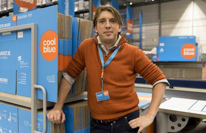 Directeur Pieter Zwart van Coolblue presenteert vandaag goede jaarcijfers