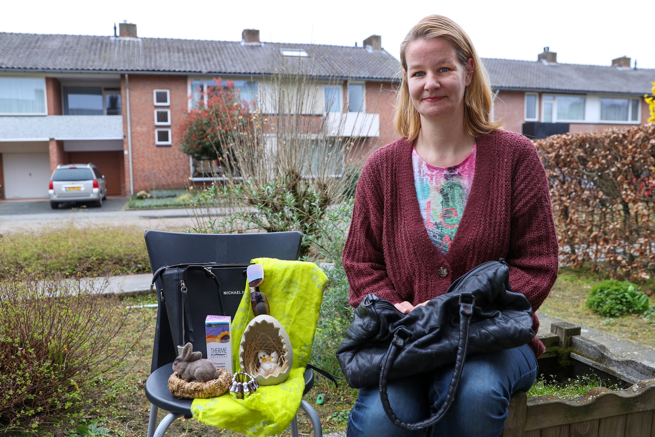 Tanja van Aalst verzorgt via de Facebookpagina Taskado tassen met luxe producten voor minima.