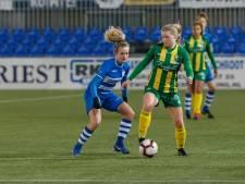 Inhaalrace levert PEC Zwolle Vrouwen punt op