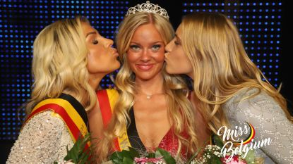 """Celest (18) is Miss West-Vlaanderen en dochter van doelman: """"Familiegenen hebben mij aan de overwinning geholpen"""""""