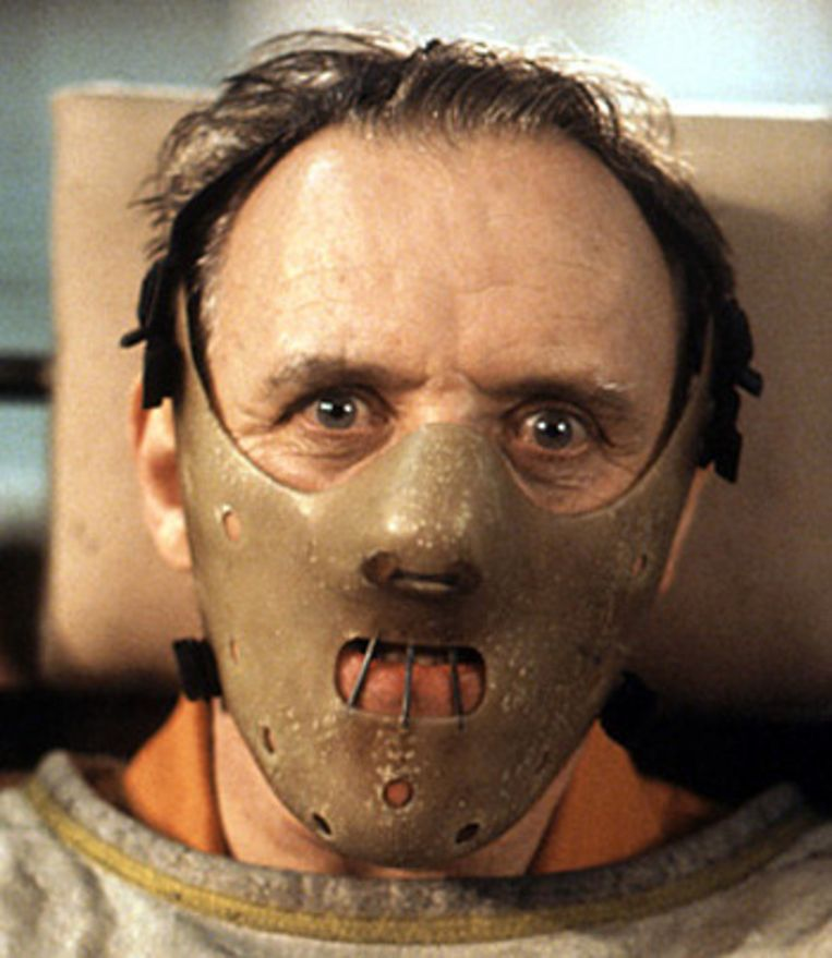 Hannibal Lecter uit 'Silence of the Lambs'. Beeld
