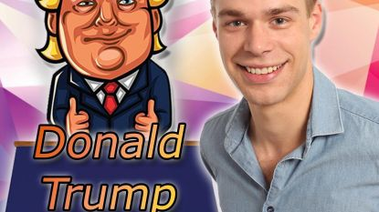 "VIDEO. Vlaamse zanger lanceert single over Donald Trump... en de Amerikaanse president tweet er over: ""Echt een kippenvelmoment"""