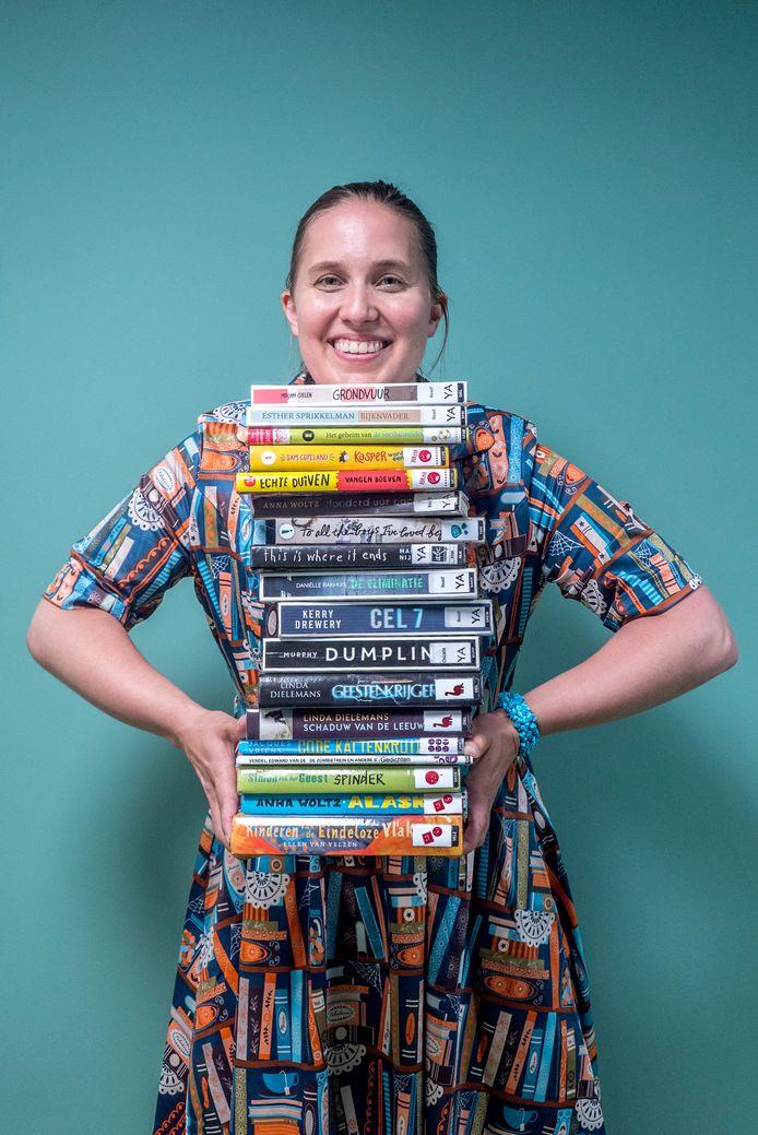 Kinderboekoloog en bibliothecaresse Eva Orta weet alles over boeken waar een geurtje aan zit.