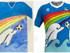 Nieuwe shirt Pescara ontworpen door 6-jarige Luigi