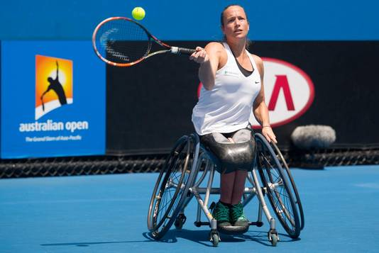 Jiske Griffioen speelt vanavond op de Paralympics in Rio.