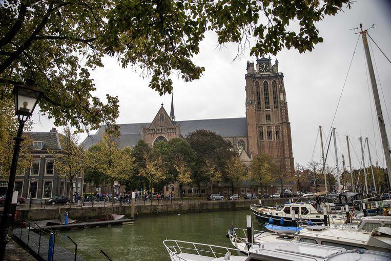 Illustratiebeeld. Oude Haven van Dordrecht