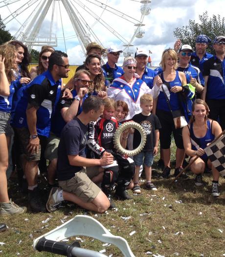 Elle (6) is de 15.000ste crosser in het Blagenparadijs