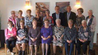 75-jarigen van Hansbeke vieren feest