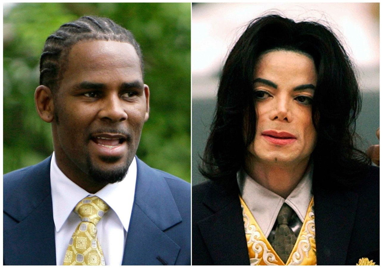 R. Kelly en Michael Jackson