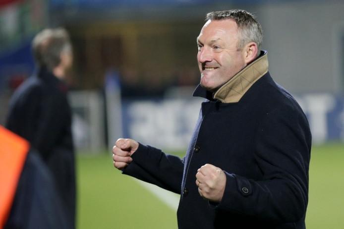Trainer Ron Jans van PEC Zwolle.