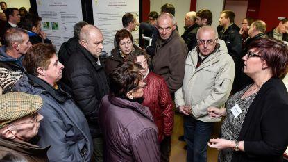 Protest tegen plannen Vanden Avenne