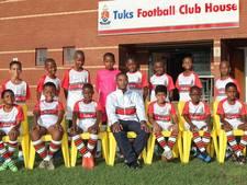 Zuid-Afrikaanse talenten van FC Tuks op U11-toernooi bij Quick'20