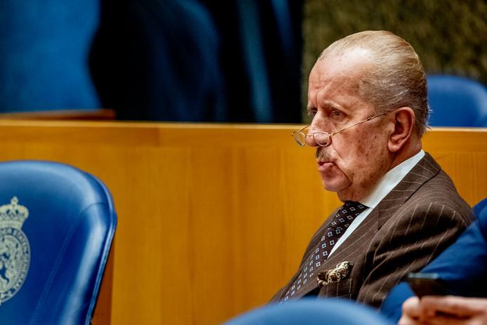 Theo Hiddema in de Tweede Kamer.