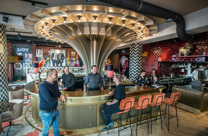 Restaurant At Noon opende vorig jaar tegenover het nieuwe Gerechtsgebouw in de Belcrum in Breda.