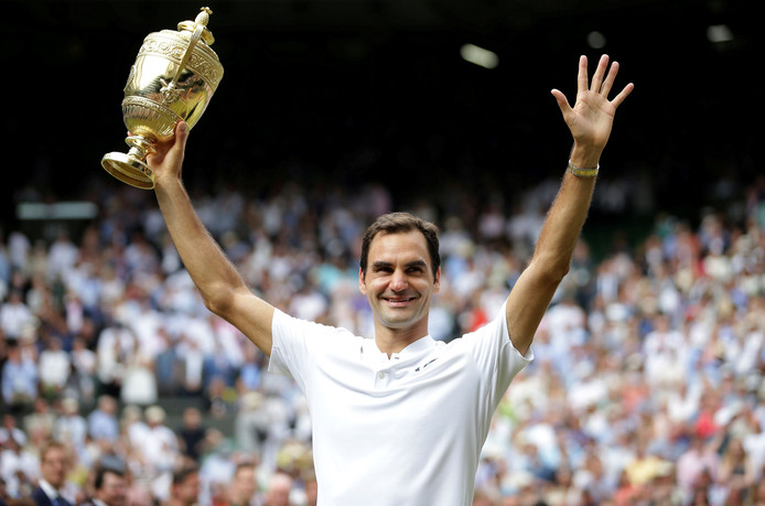 Roger Federer: de nieuwe nummer drie.