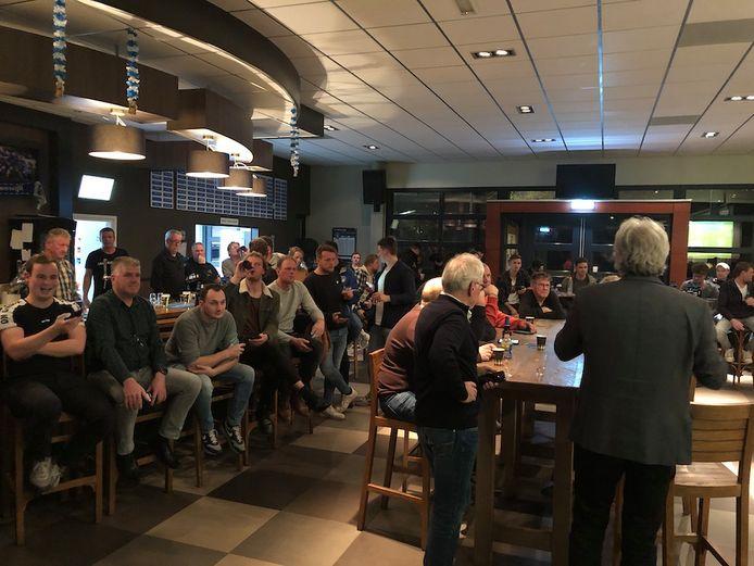 De ledenavond van VV Heeswijk