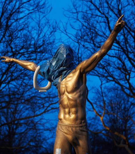 La statue de Zlatan Ibrahimovic de nouveau vandalisée à Malmö