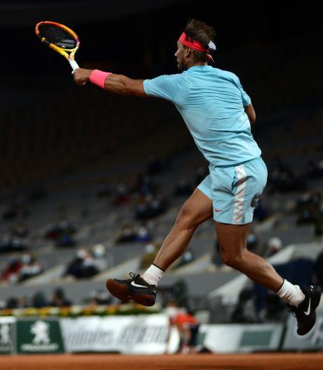 Nadal contient Sinner et rejoint Schwartzman en demi-finale